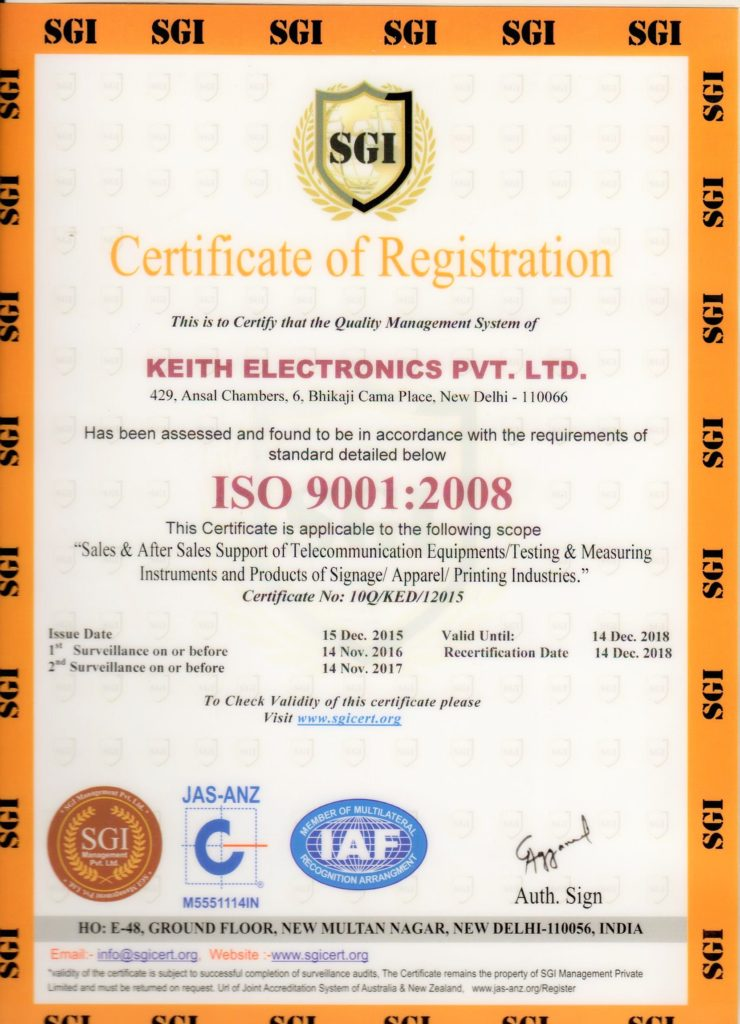 About Us – Keith Electronics Pvt. Ltd.